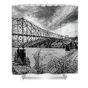 The Bridge Of The Gods Shower Curtain