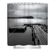 The Bridge To Enlightenment  Shower Curtain