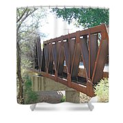 The Bridge To Home Shower Curtain
