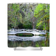 The Bridges In Magnolia Gardens Shower Curtain