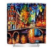 The Bridges Of Amsterdam Shower Curtain
