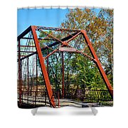 The Bridgetone Bridge Shower Curtain