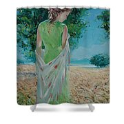 The Bright Day Shower Curtain