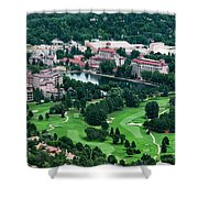The Broadmoor Resort Shower Curtain