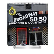 The Broadway 50 50 Shower Curtain