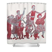 The Broons Shower Curtain