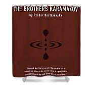 The Brothers Karamazov Greatest Books Ever Series 015 Shower Curtain