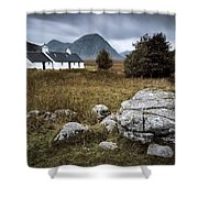 Blackrock And The Buachaille Shower Curtain