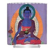 The Buddha Of Medicine  Shower Curtain