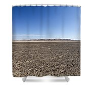 The Bulbus Rock Field In Front Of Mount Zin Shower Curtain