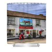 The Bull Pub Theydon Bois Panorama Shower Curtain