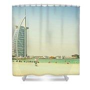The Burj Al Arab Shower Curtain