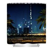 The Burj Khalifa  Shower Curtain