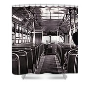 The Bus Shower Curtain