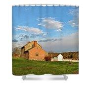 The Bushman House Shower Curtain