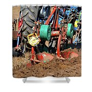 The Business End Of A Tractor  Shower Curtain