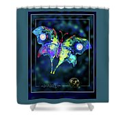 The Butterfly Mission Shower Curtain