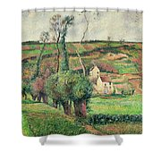 The Cabbage Slopes Shower Curtain