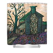 The Cabin 2 Shower Curtain