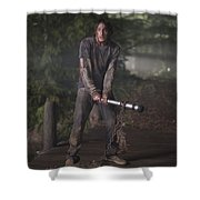 The Cabin In The Woods Shower Curtain