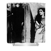 The Cabinet Of Dr.caligari Shower Curtain