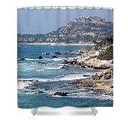 The Cabo Coast Shower Curtain
