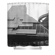 The California Building  Shower Curtain
