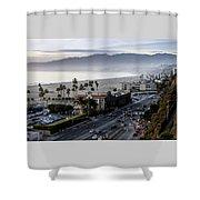 The California Incline Shower Curtain
