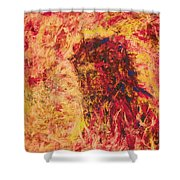 The Call Of Christ - Bgcoc Shower Curtain