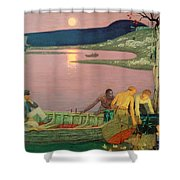 The Call Of The Sea Shower Curtain