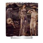 The Calling Of Perseus 1898 Shower Curtain