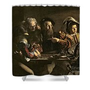 The Calling Of St. Matthew Shower Curtain