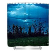 The Calm Before The Storm. Shower Curtain