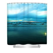 The Calm Of The Ocean Shower Curtain