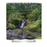 The Calm Waters  Shower Curtain