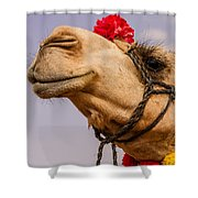 The Camel Beauty Shower Curtain