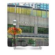 The Canadian Stage Company Shower Curtain
