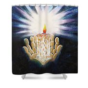 The Candle Of The Lord Shower Curtain