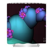 The Candy Plant Shower Curtain