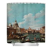 The Cannament Of The Great Canal Shower Curtain
