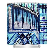 The Canvas Story  Shower Curtain