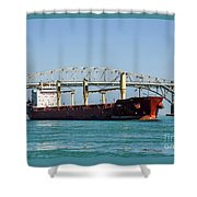 The Cape At Blue Water Bridges Shower Curtain