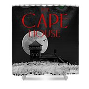 The Cape House Book Cover Shower Curtain