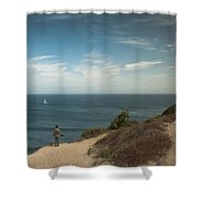 The Captivating Sailboat Shower Curtain