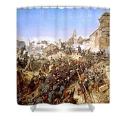 The Capture Of Constantine Shower Curtain