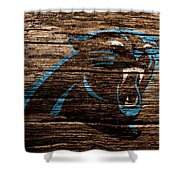 The Carolina Panthers 4b Shower Curtain