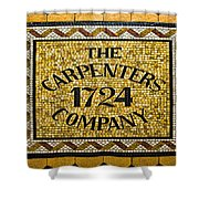 The Carpenters Company Shower Curtain
