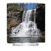 The Cascades Falls II Shower Curtain
