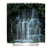 The Cascading Waterfall Shower Curtain