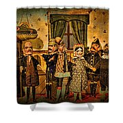 The Cast Takes A Bow Shower Curtain
